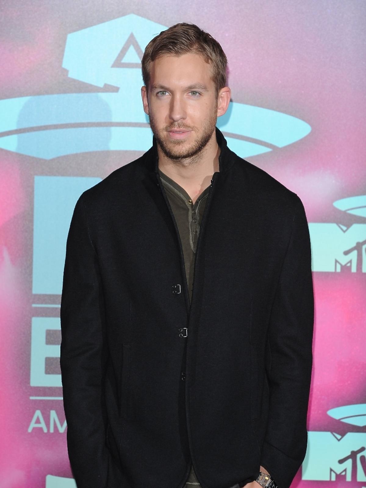 Calvin Harris na gali MTV EMA 2013 w Amsterdamie