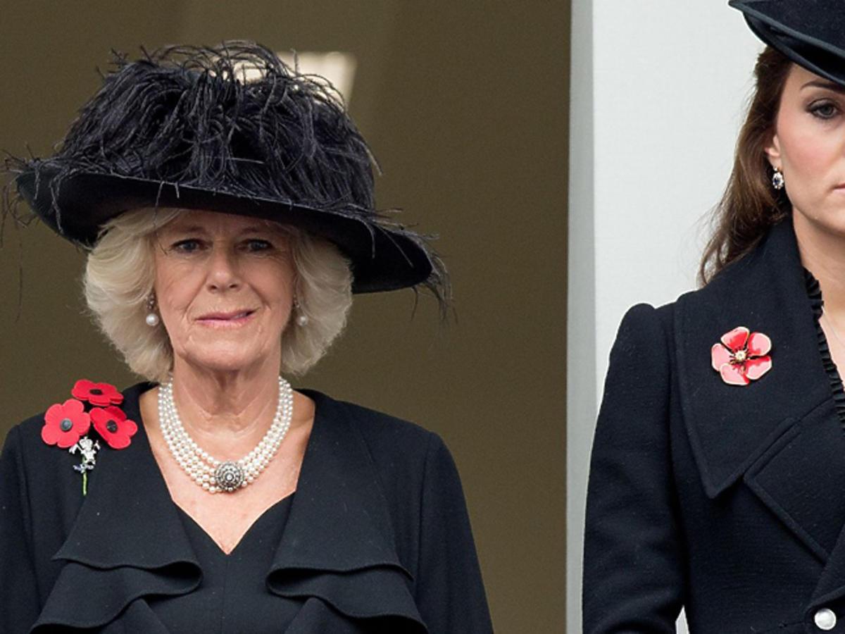 Camilla Bowles, księżna Kate
