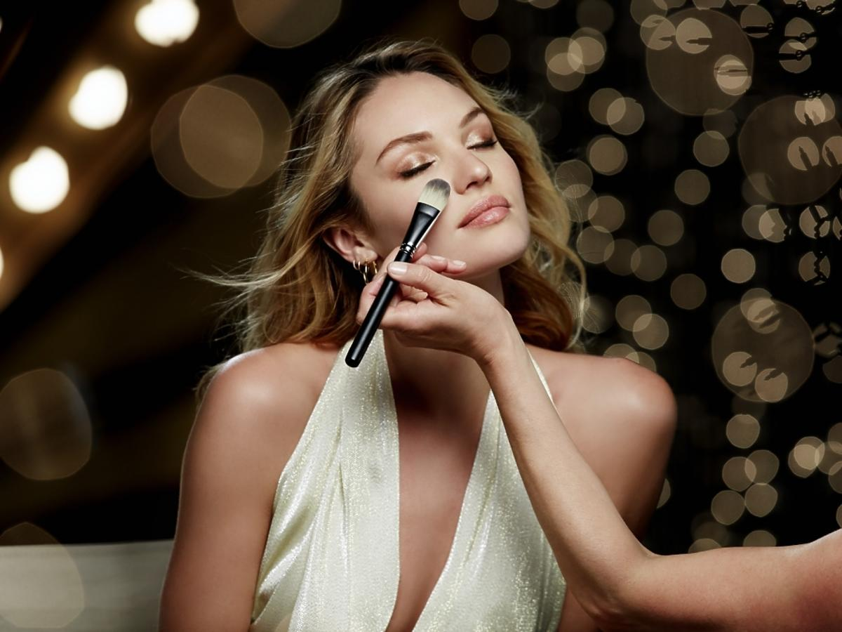 Candice Swanepoel Behind the Scenes for Max Factor Skin Luminizer Foundation