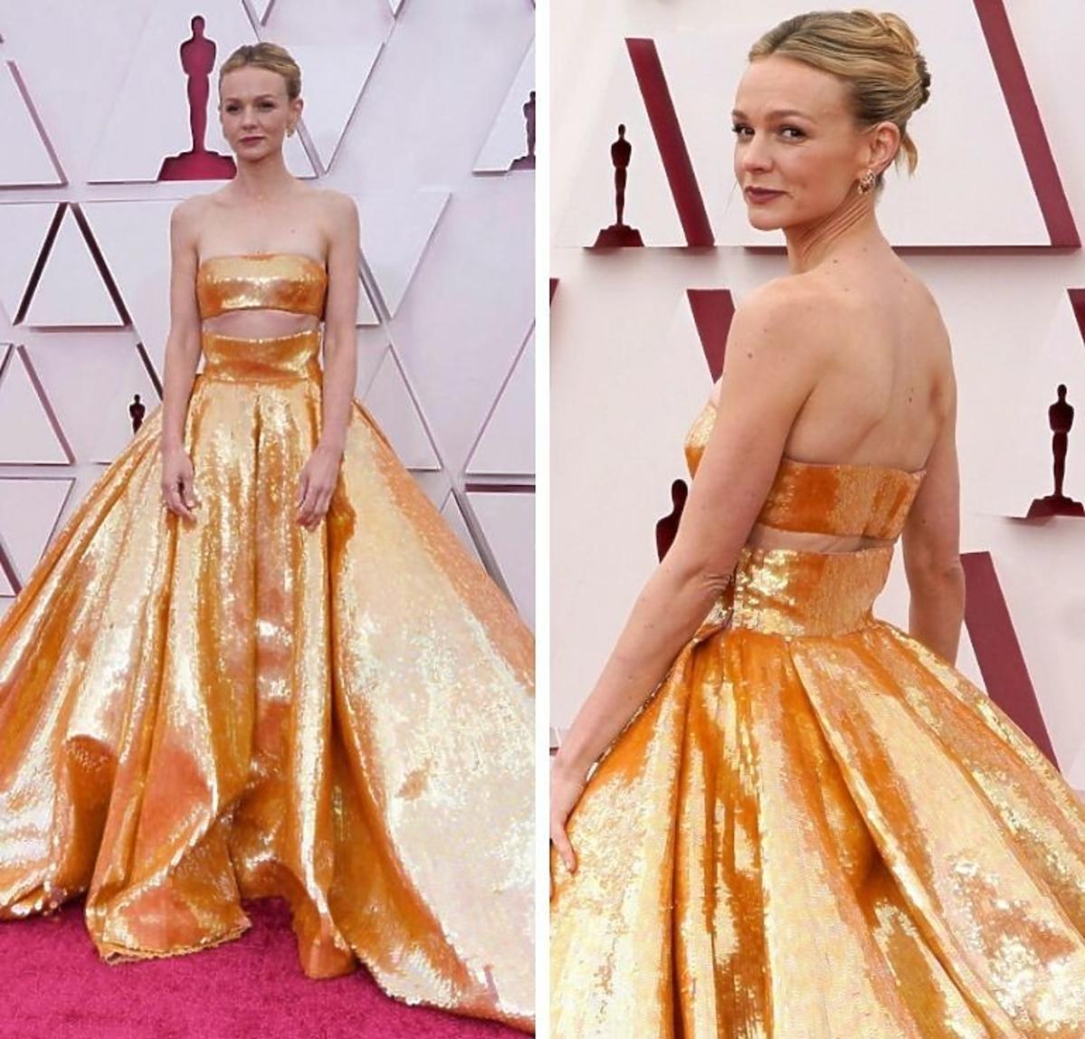 Carey Mulligan w sukni Valentino Oscary 2021