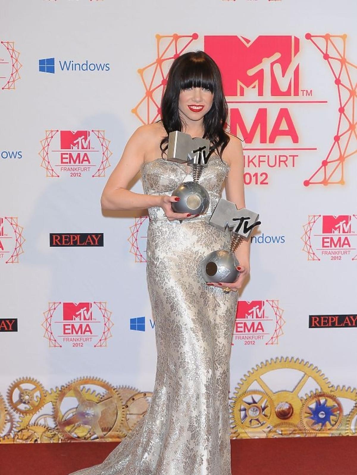 Carley Rae Jepsen na gali MTV EMA 2012
