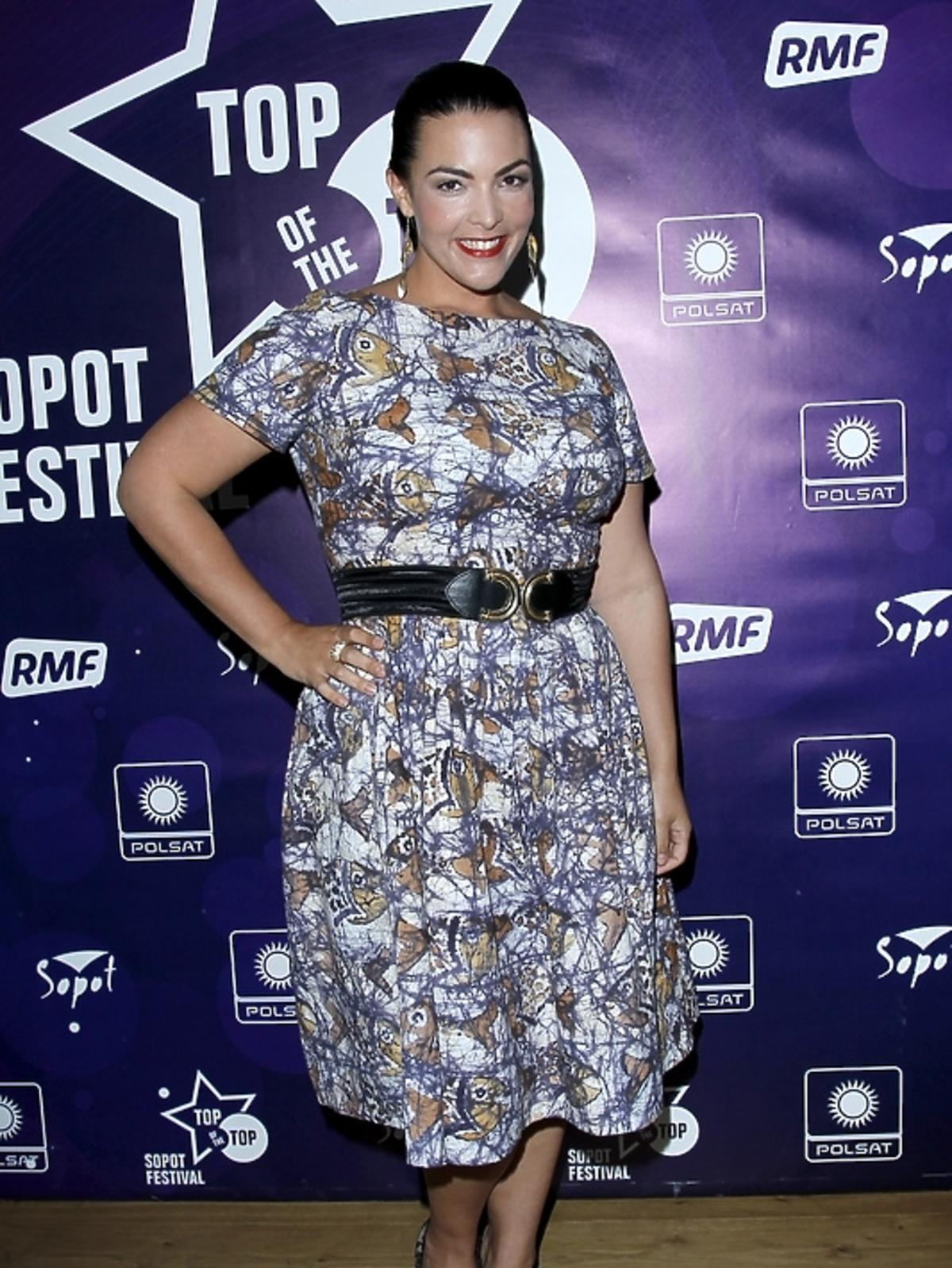 Caro Emerald podczas konferencji Sopot Top of the Top Festival 2013