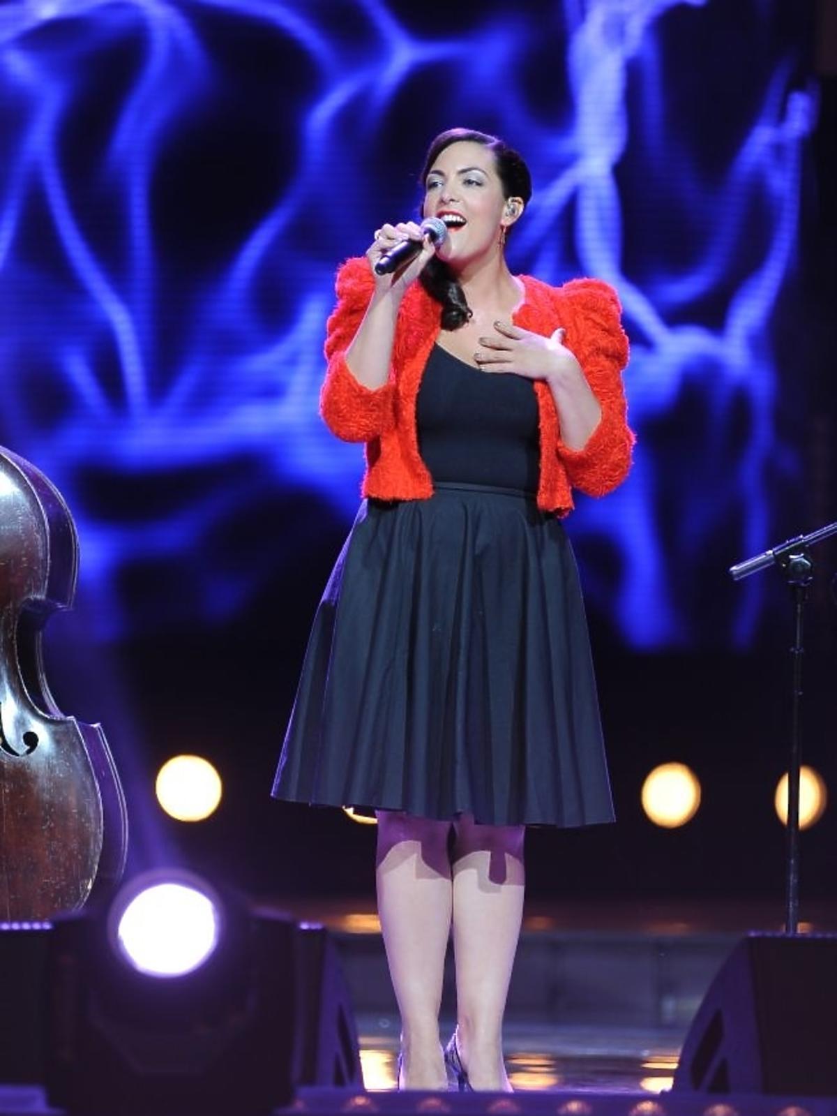 Caro Emerald podczas pierwszego dnia Sopot Top of the Top Festival 2013