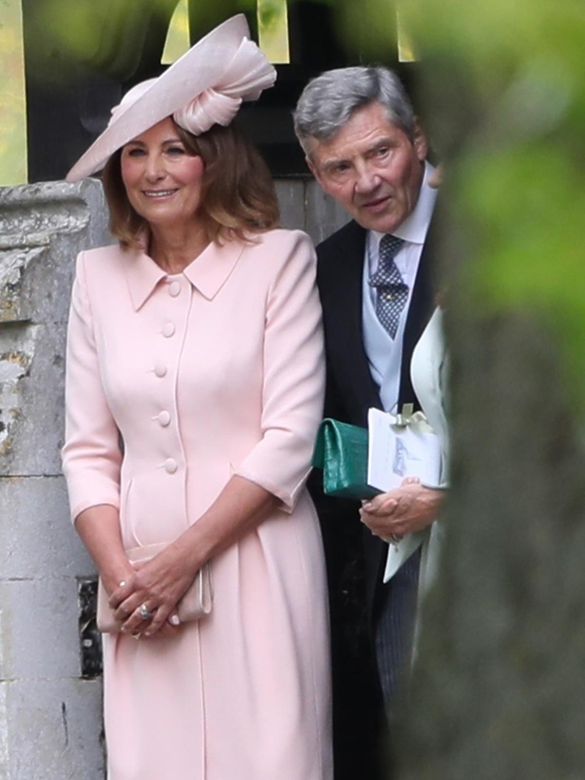 Carole Middleton, Michael Middleton