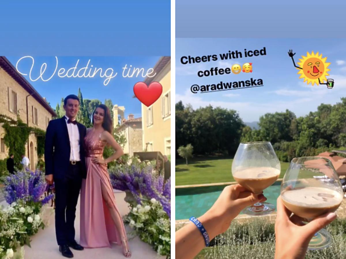 Caroline Wozniacki ślub