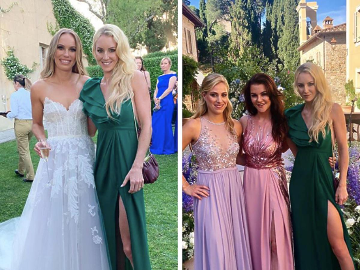 Caroline wozniacki wedding