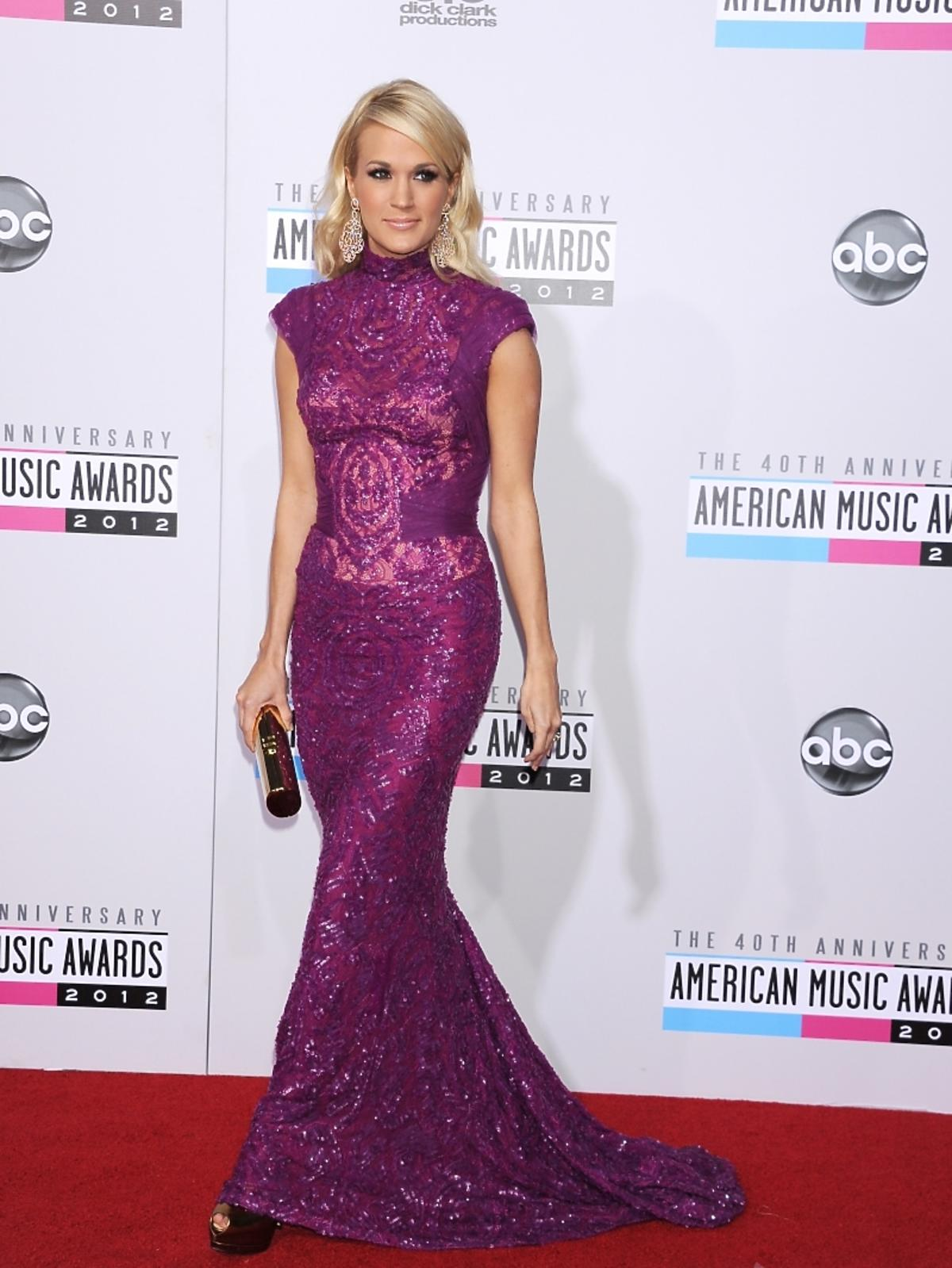 Carrie Underwood na rozdaniu nagród American Music Awards