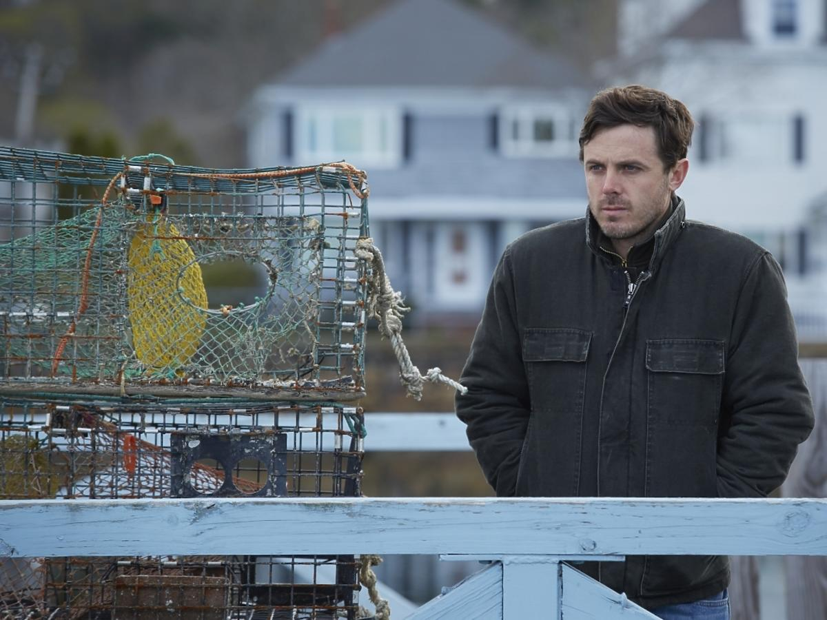 Casey Affleck w filmie Manchester by the Sea