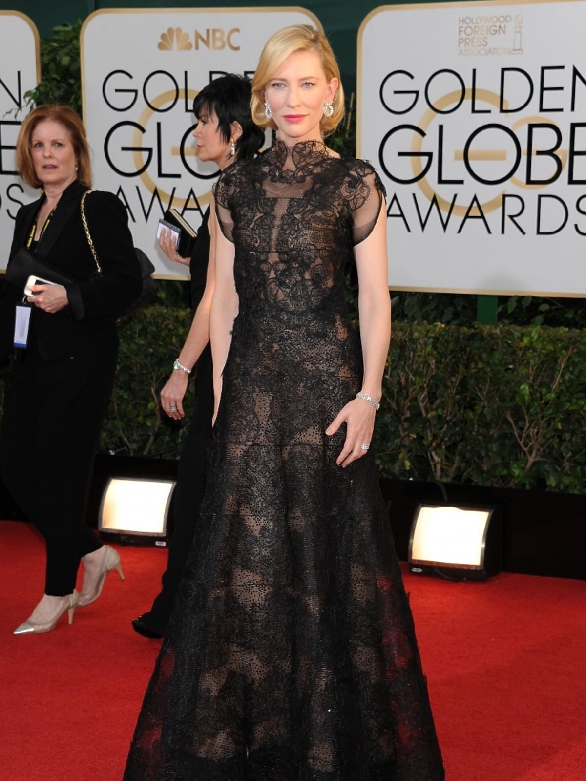 Cate Blanchett na rozdaniu Złotych Globów 2014