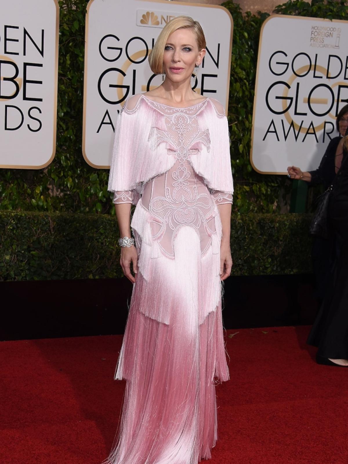 Cate Blanchett na gali Złote Globy 2016