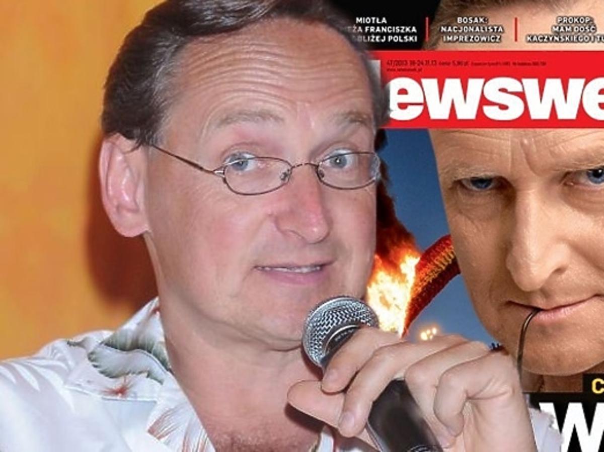 """Cejrowski o tęczy w """"Newsweeku"""""""