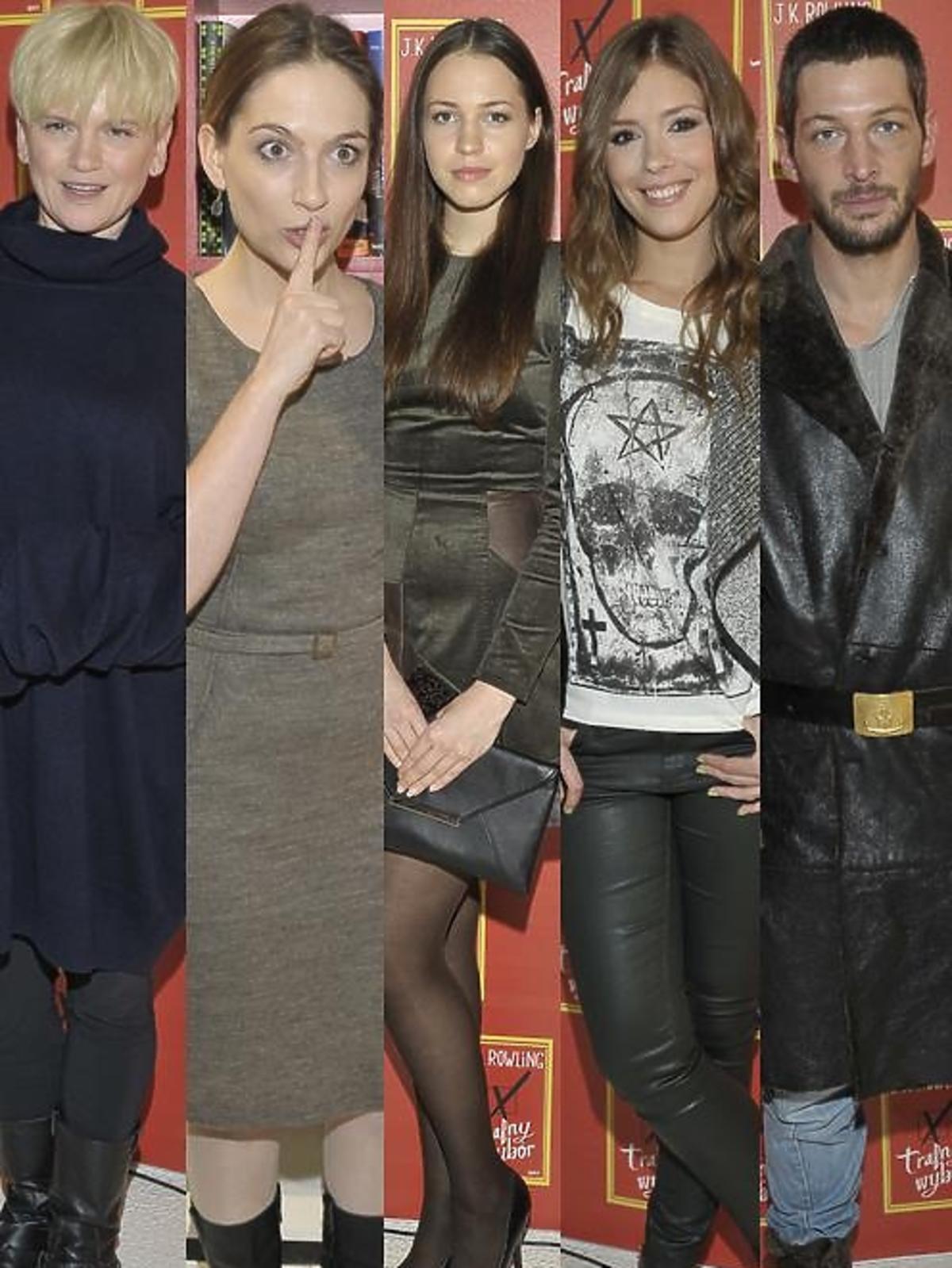 Celebryci na premierze książki J.K.Rowling