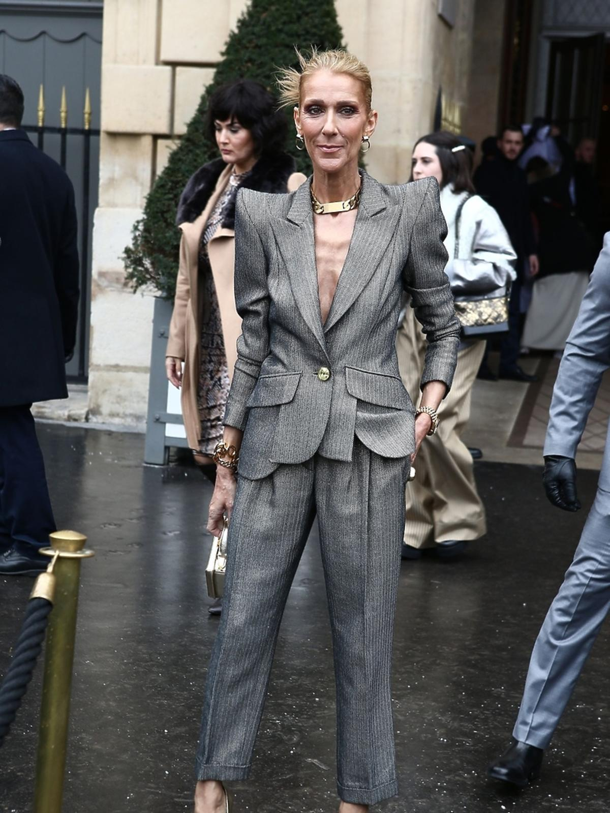 Celine Dion bardzo chuda
