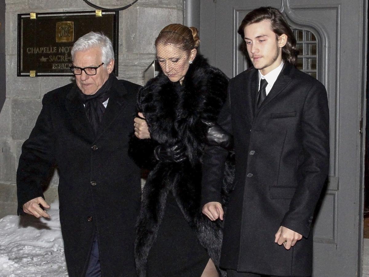 Celine Dion pożegnała męża