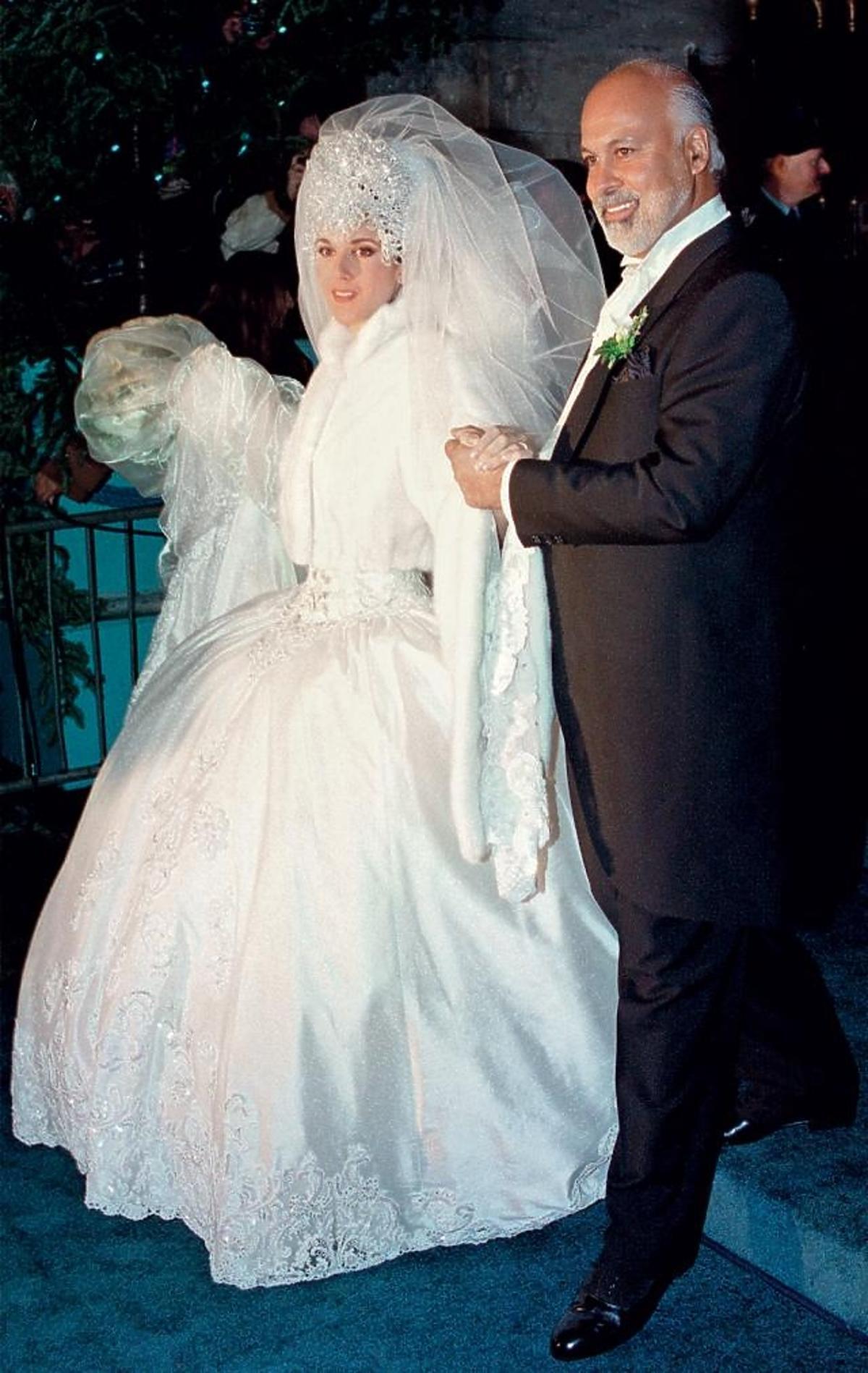 Celine Dion z mężem Rene Angelilem