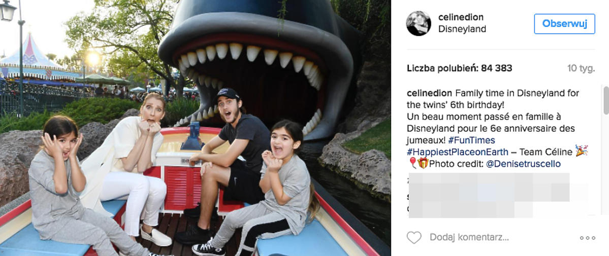 Celine Dione z synami