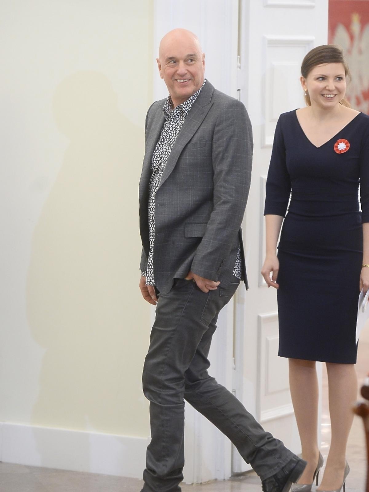 Cezary Harasimowicz na spotkaniu z prezydentem RP