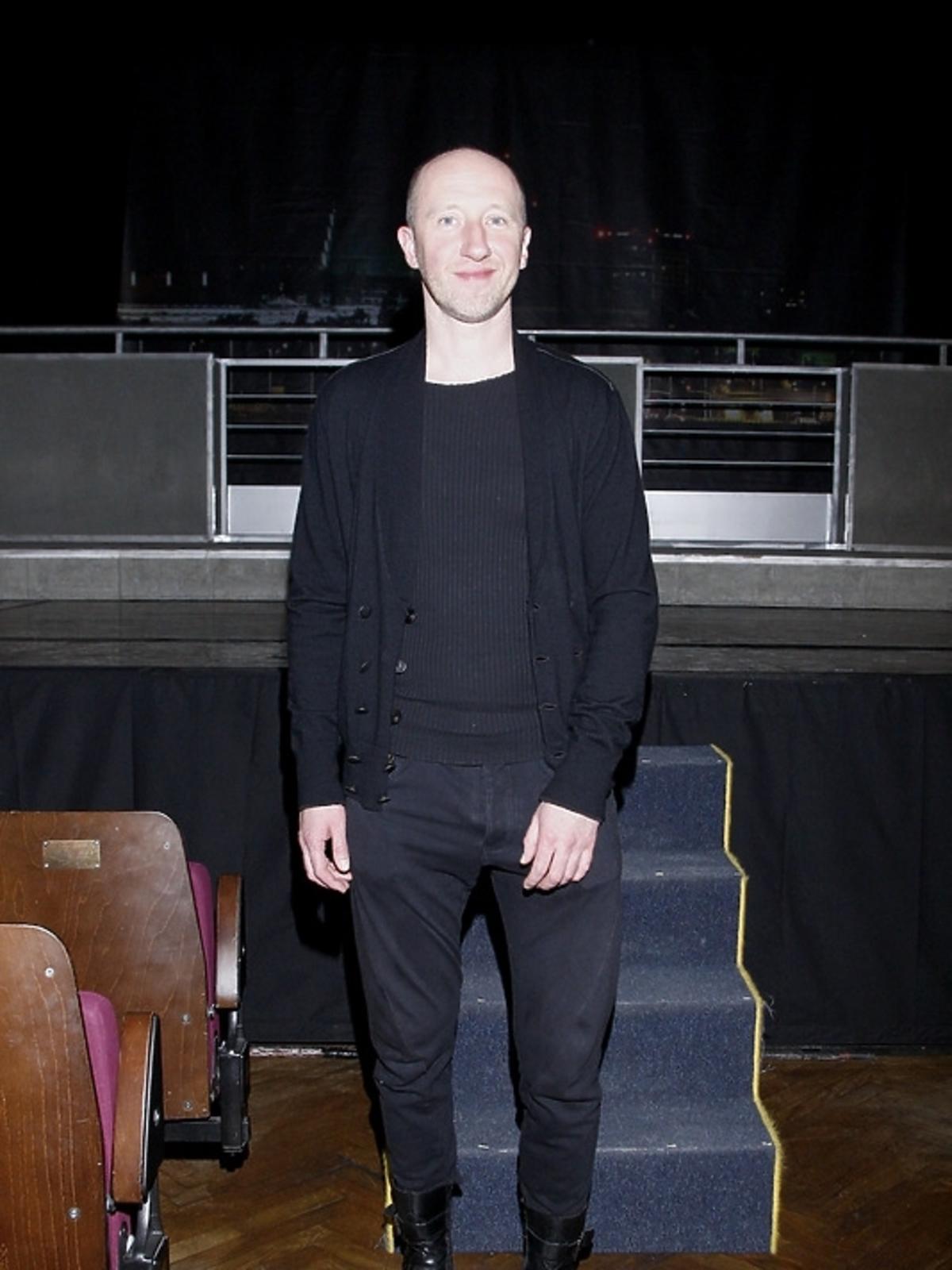Cezary Kosiński na premierze spektaklu