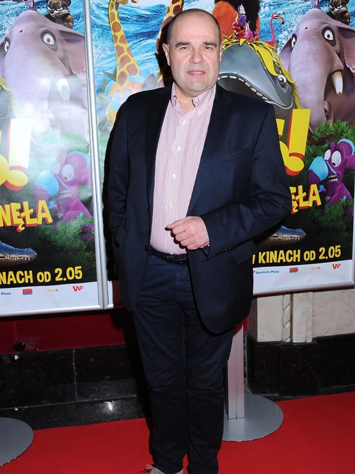 Cezary Żak na premierze filmu