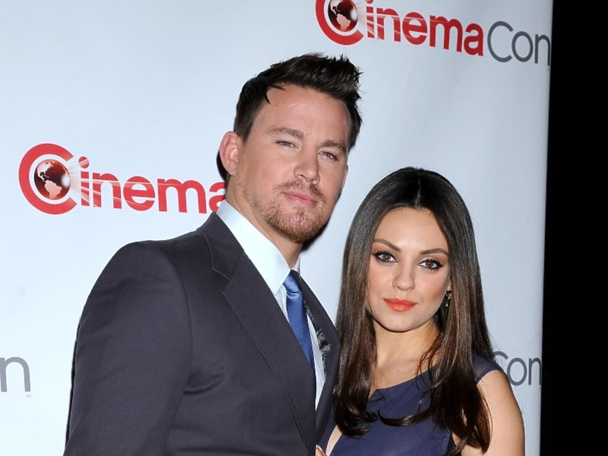 Channing Tatum i Mila Kunis w ciąży