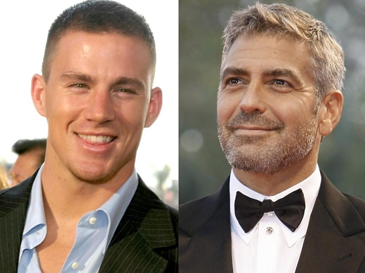 Channing Tatum marzy o seksie z Georgem Clooney'em