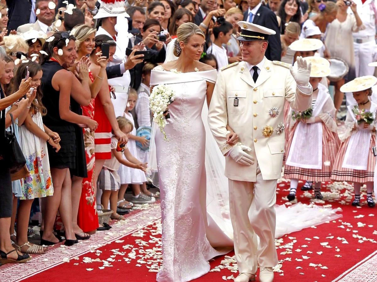 Charlene Grimaldi i książę Albert II Grimaldi
