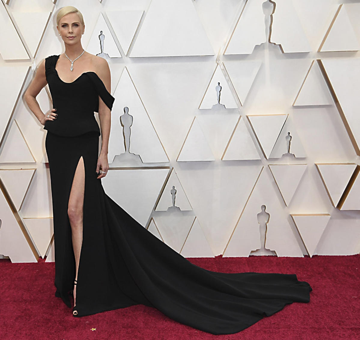 Charlize Theron na gali Oscarów 2020