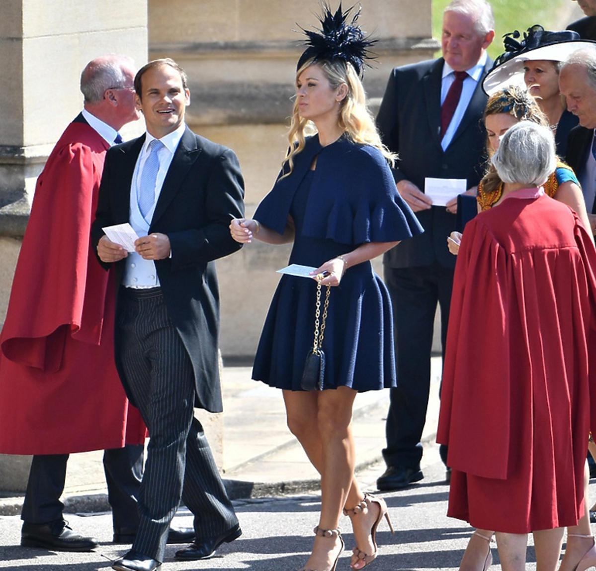 Chelsy Davy na ślubie księcia Harry'ego i Meghan Markle
