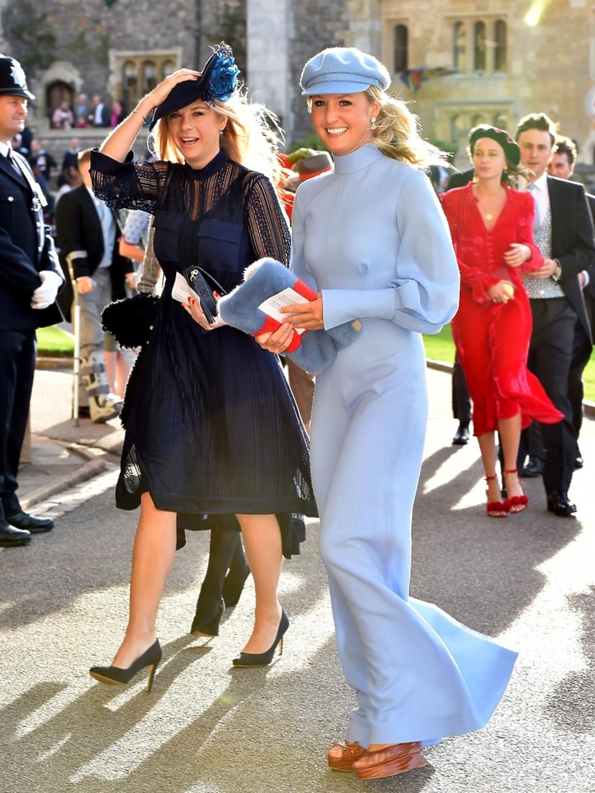 Chelsy Davy na ślubie księżniczki Eugenii