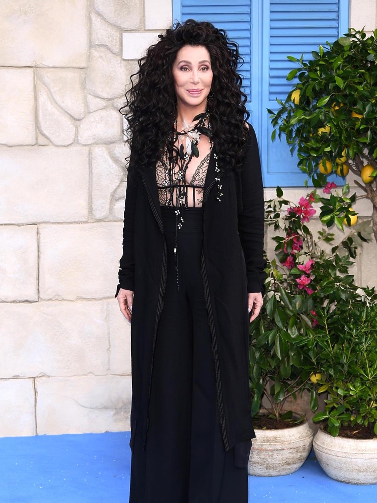 Cher na premierze Mamma Mia! Here We Go Again