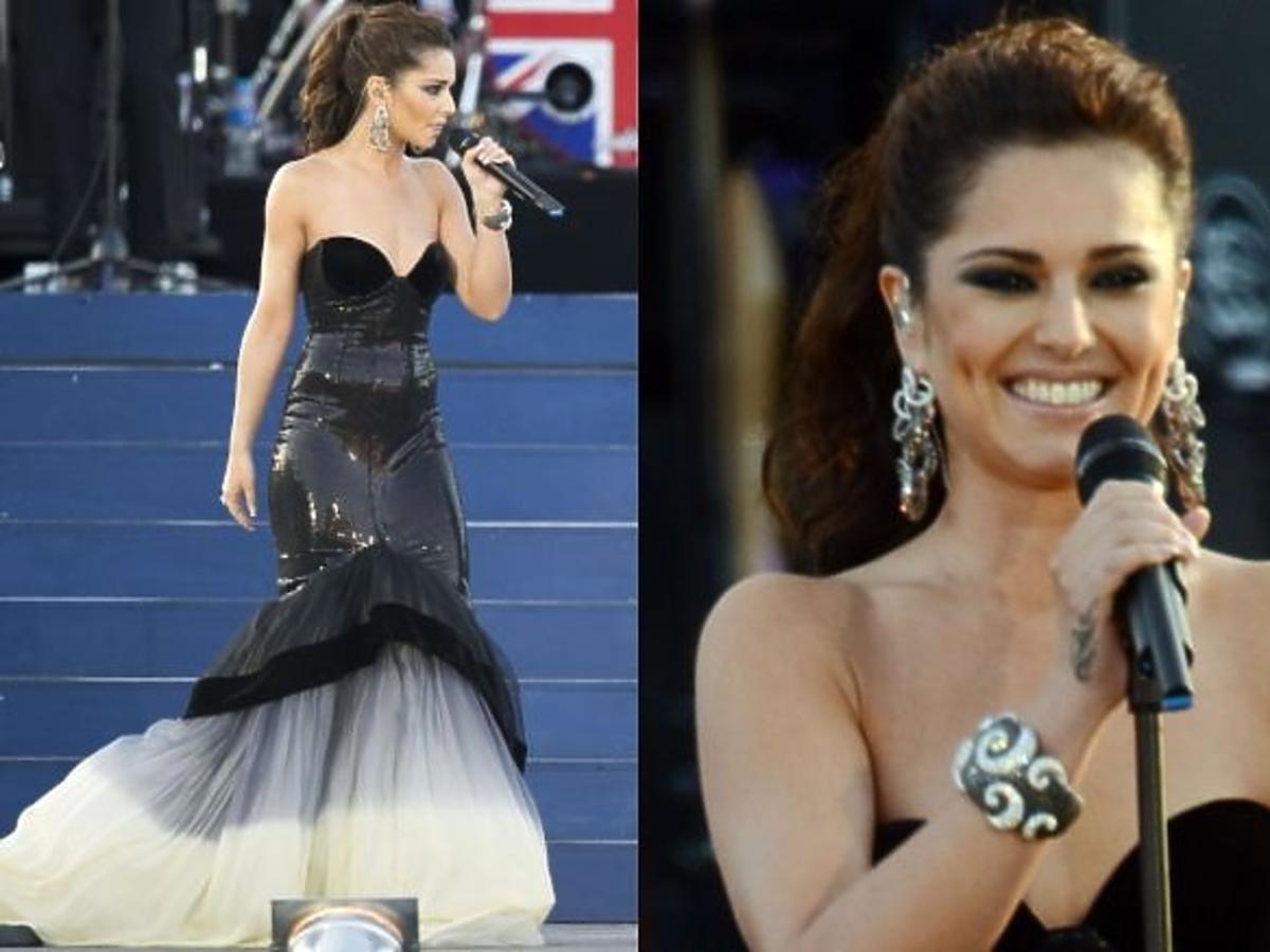 Cheryl Cole w sukni Evy Minge