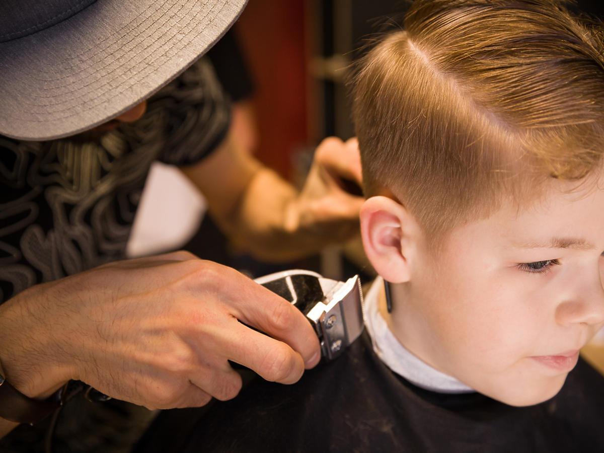 Chłopięca fryzura