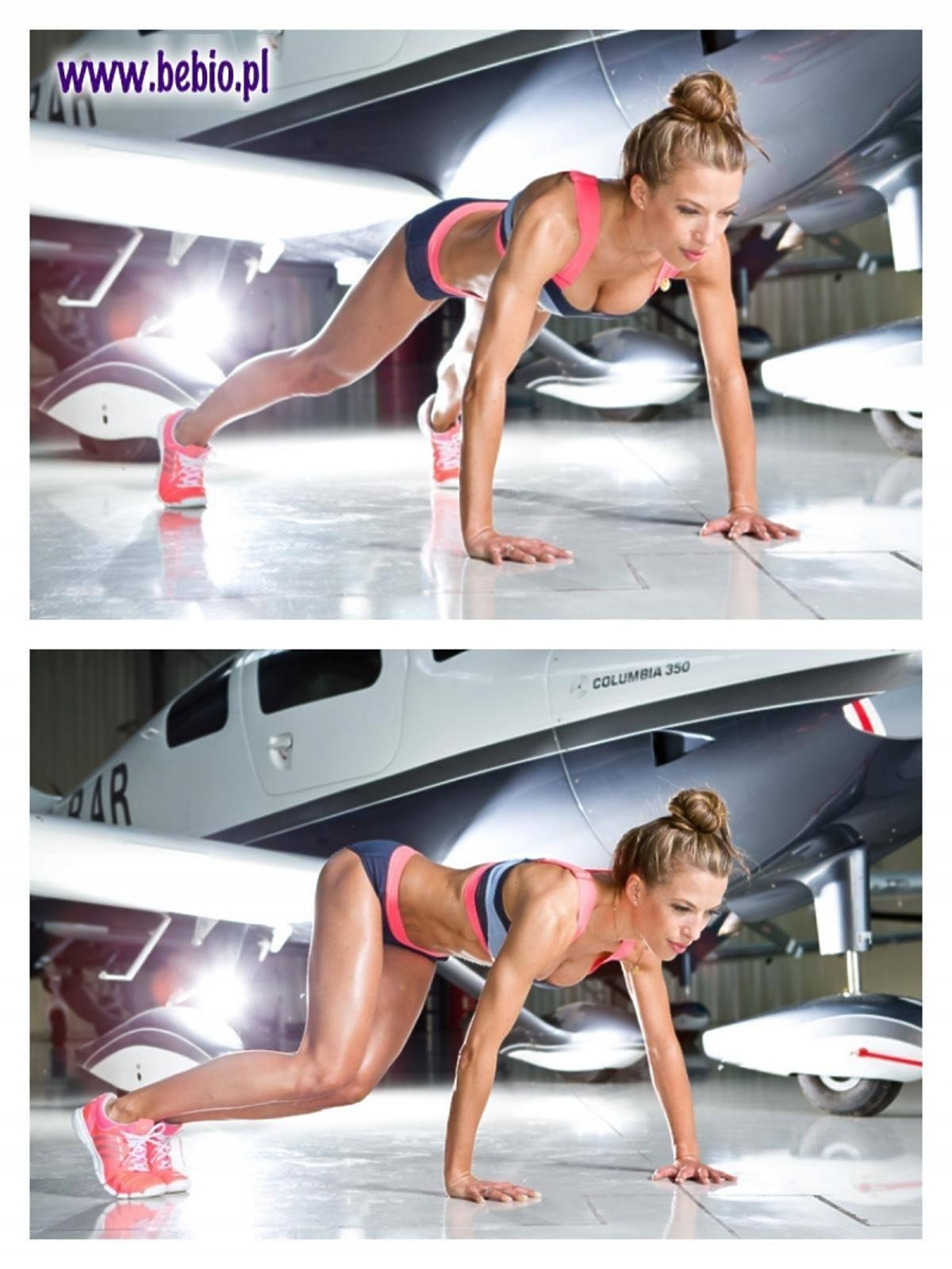 Chodakowska pokazuje ćwiczenia na lato