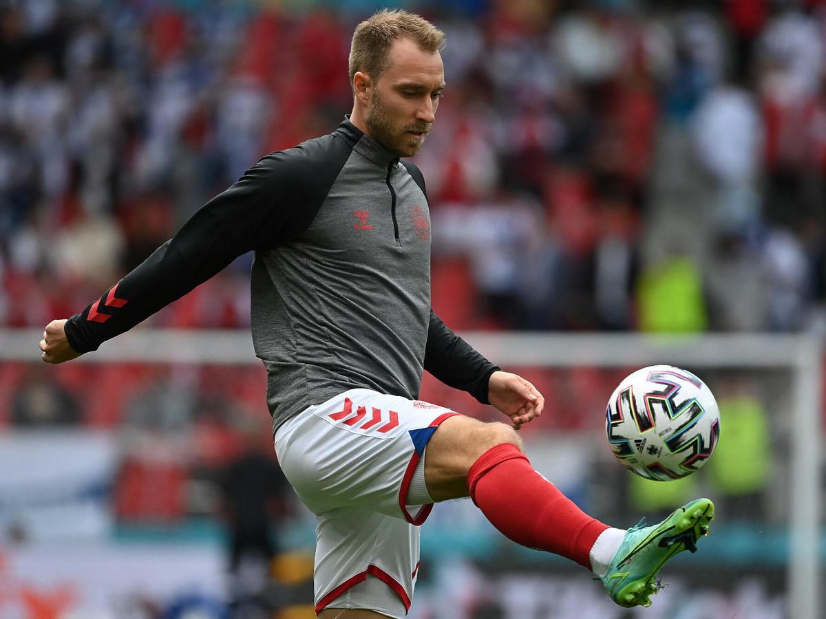 Christian Eriksen zasłabł na Euro 2020
