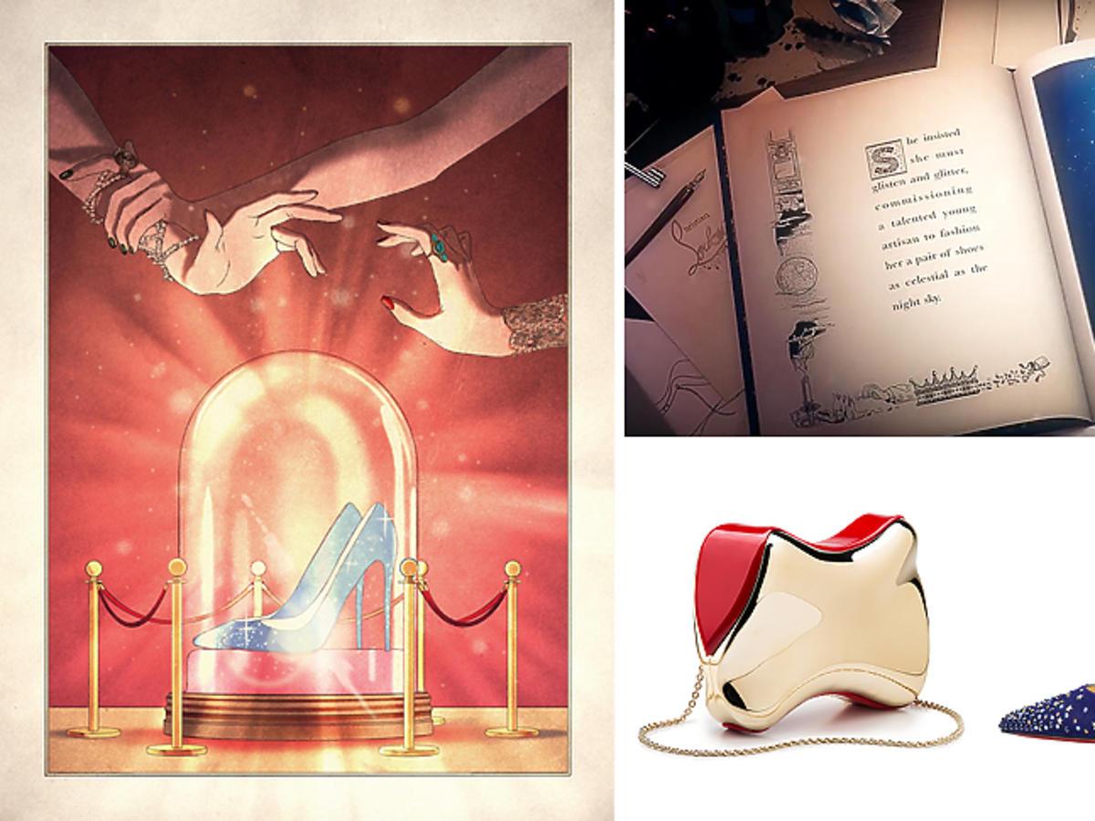 Christian Louboutin - święta 2016 - baśniowa kampania The Tale of the Shoe Maker and the Stolen Stars