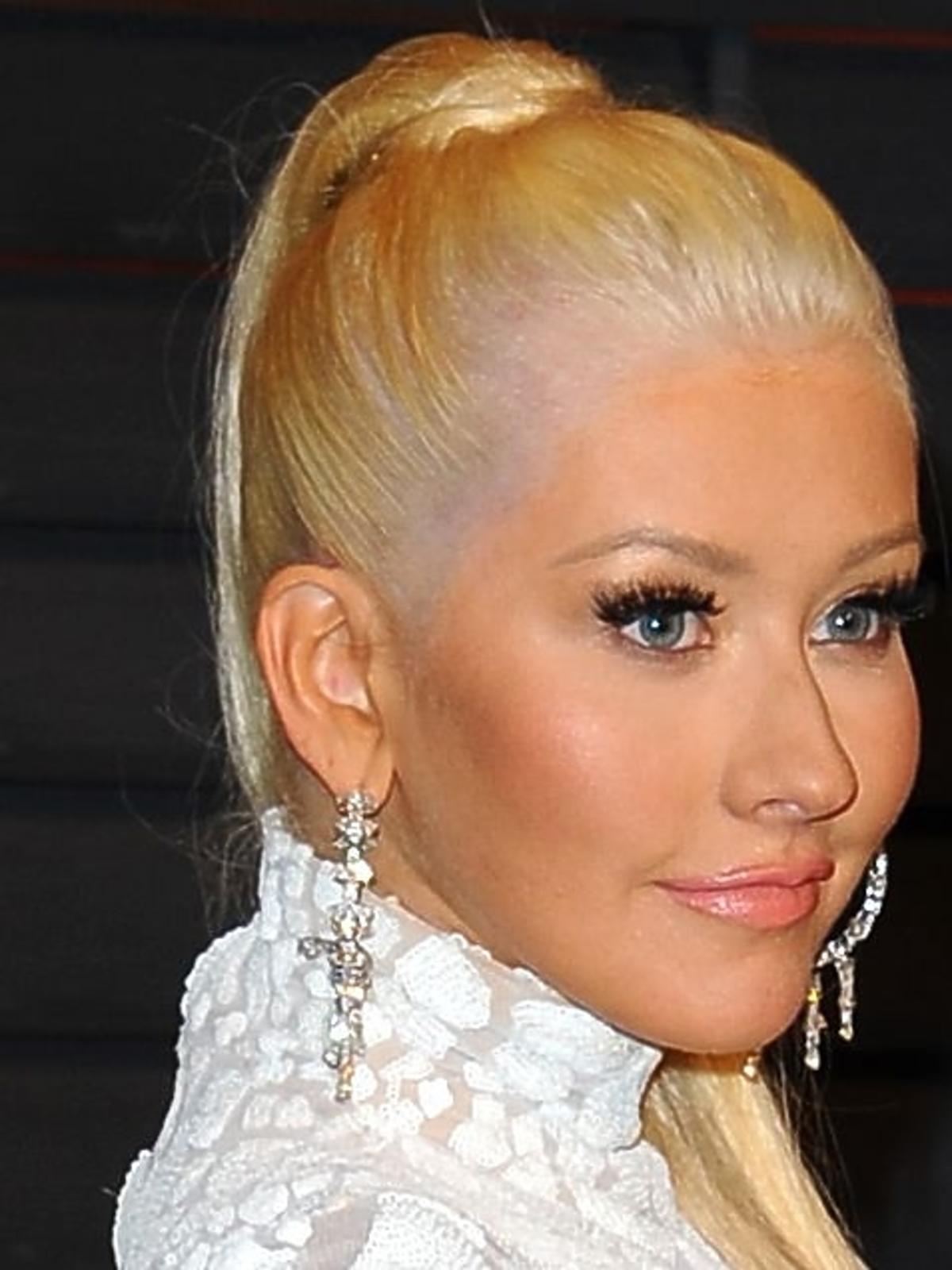 Christina Aguilera na Oscarach 2015