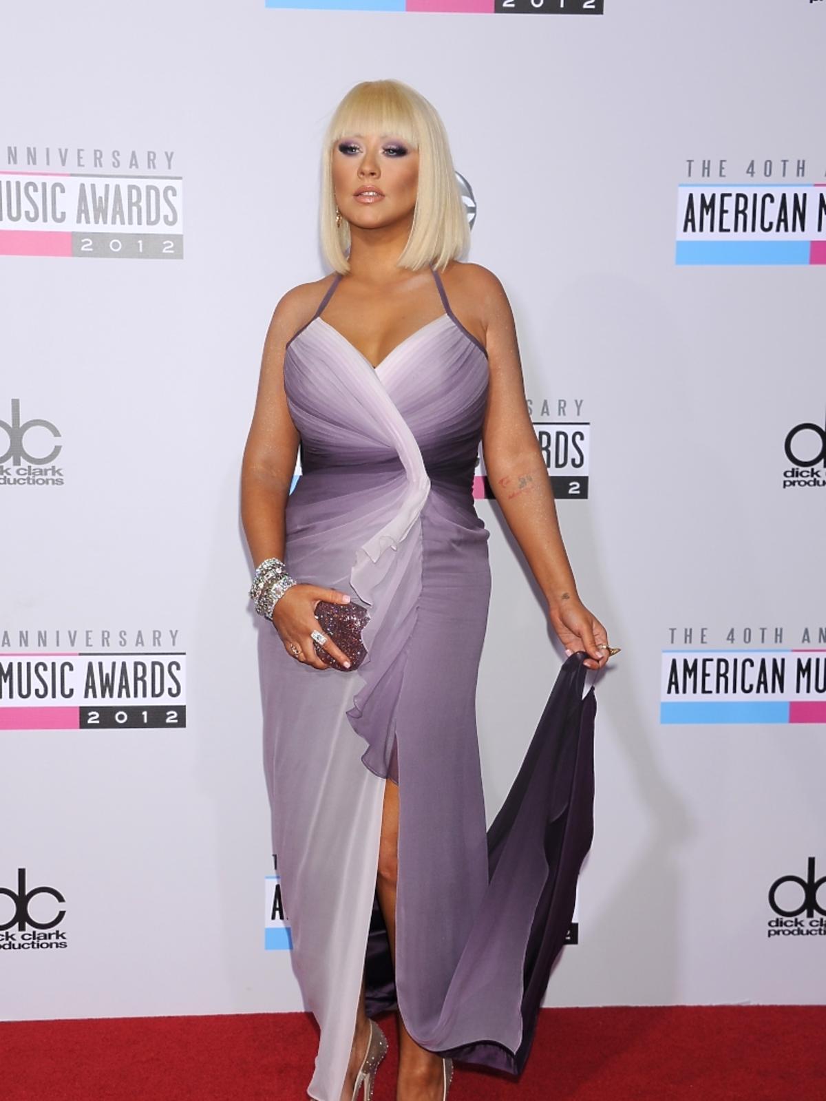Christina Aguilera na rozdaniu nagród American Music Awards