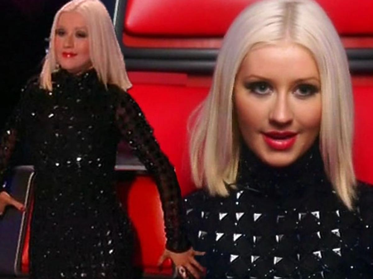 Chuda Christina Aguilera