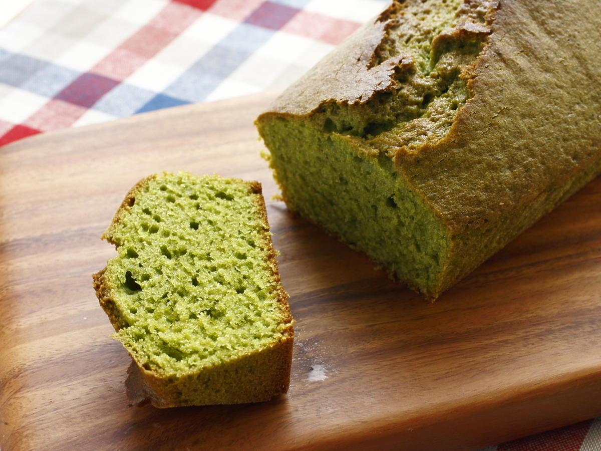 ciasto z zielonej herbaty