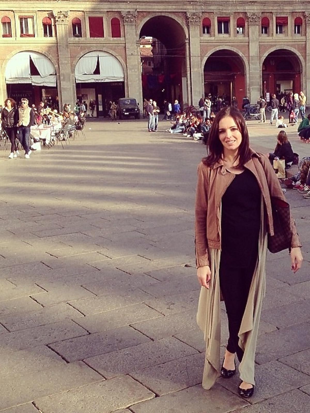 Ciężarna Anna Wendzikowska z narzeczonym we Włoszech