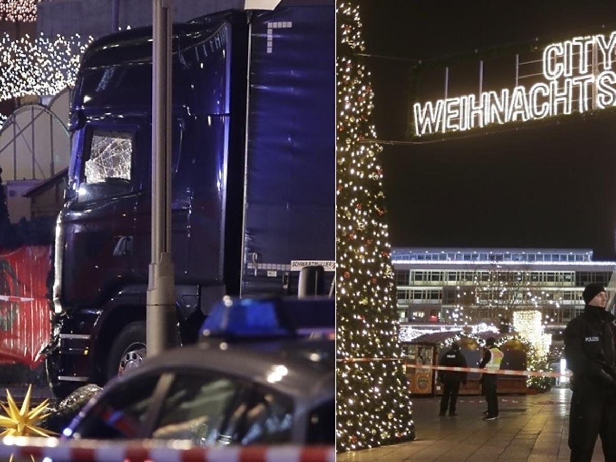 Ciężarówka wjechała w tłum ludzi na jarmarku bożonarodzeniowym w Berlinie. 12 osób nie żyje, a 48 jest rannych