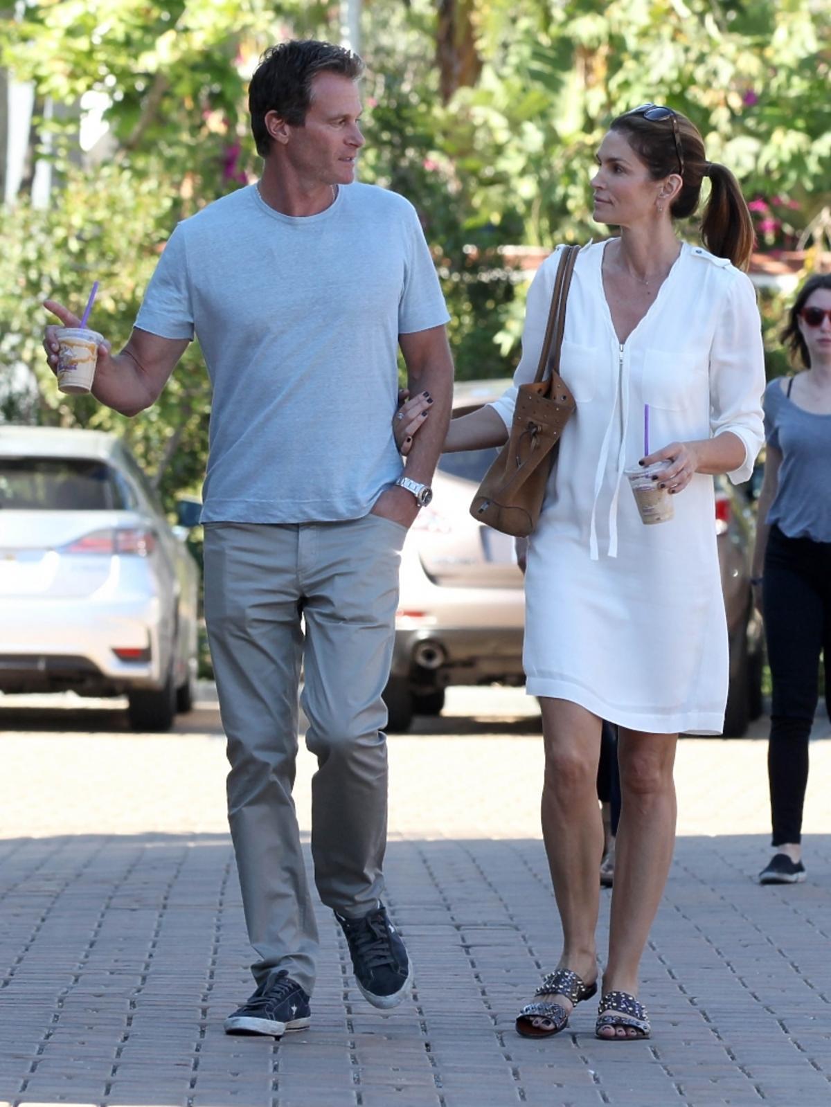Cindy Crawford z mężem