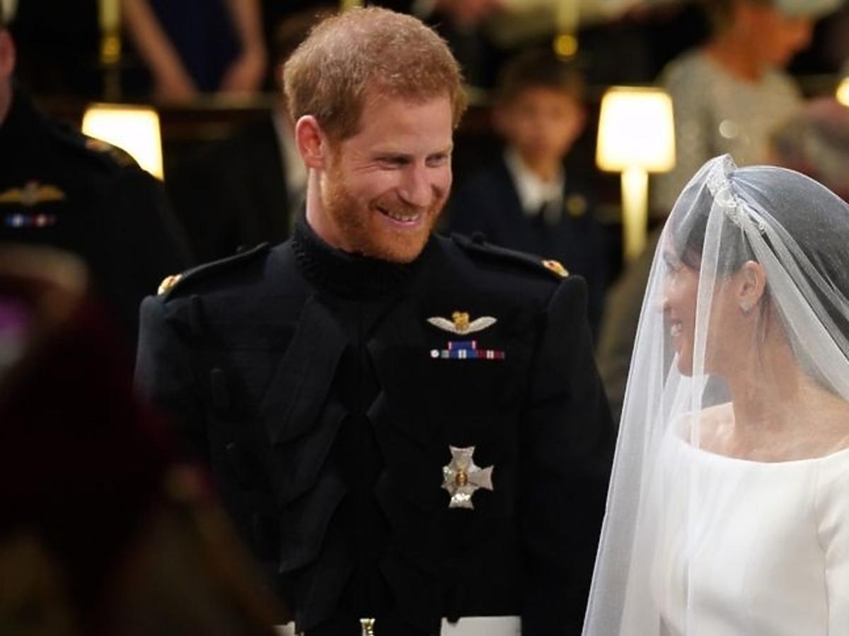 Co książę Harry powiedział do Meghan podczas ślubu?