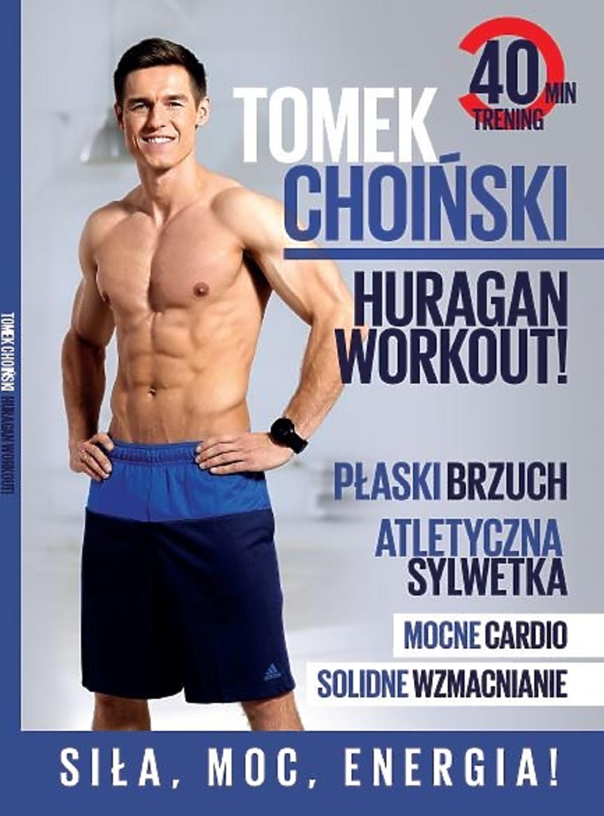 Co nowego w lutowym Be Active? Płyta DVD Tomka Choińskiego