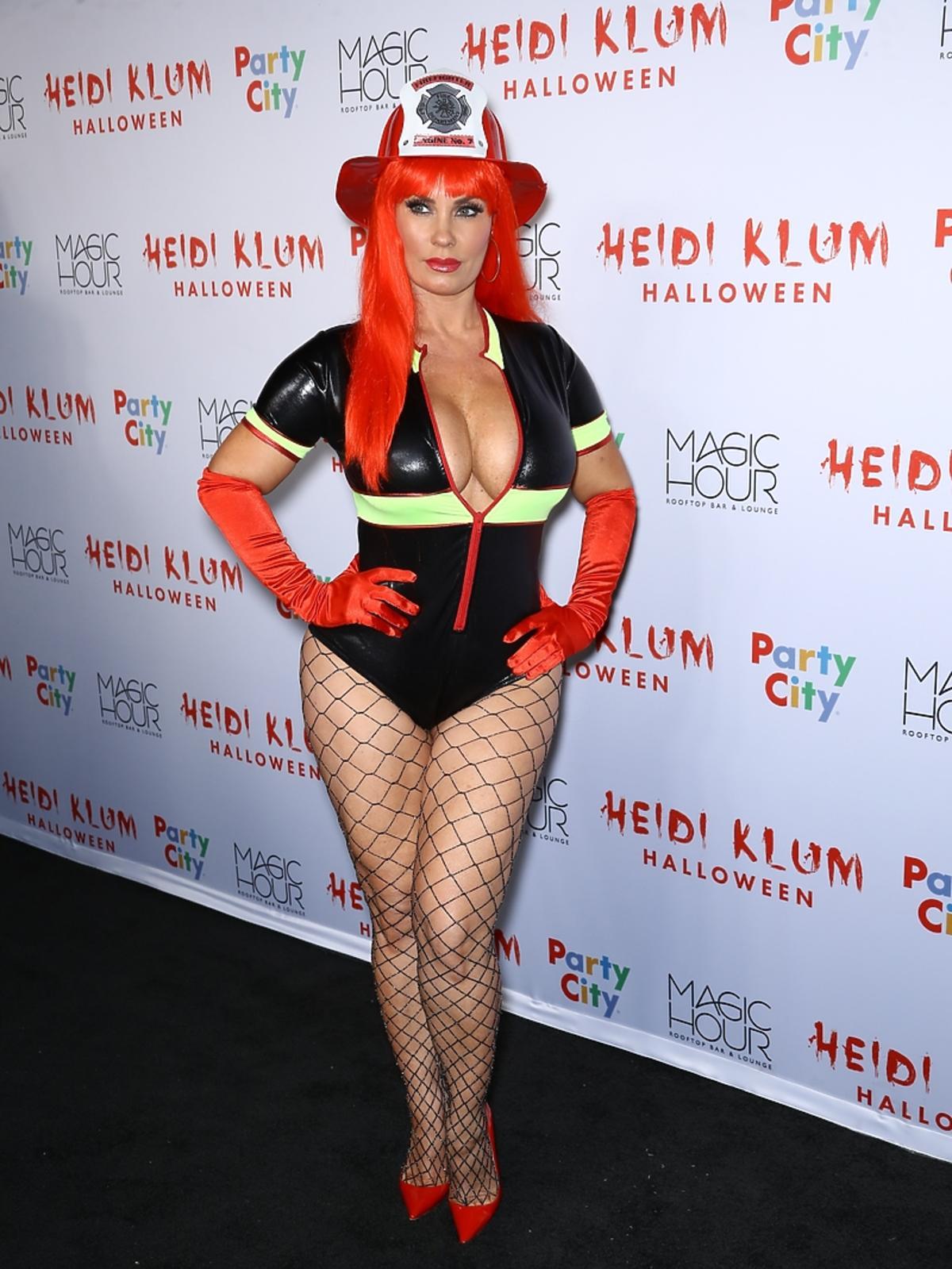 Coco Austin na imprezie halloweenowej Heidi Klum