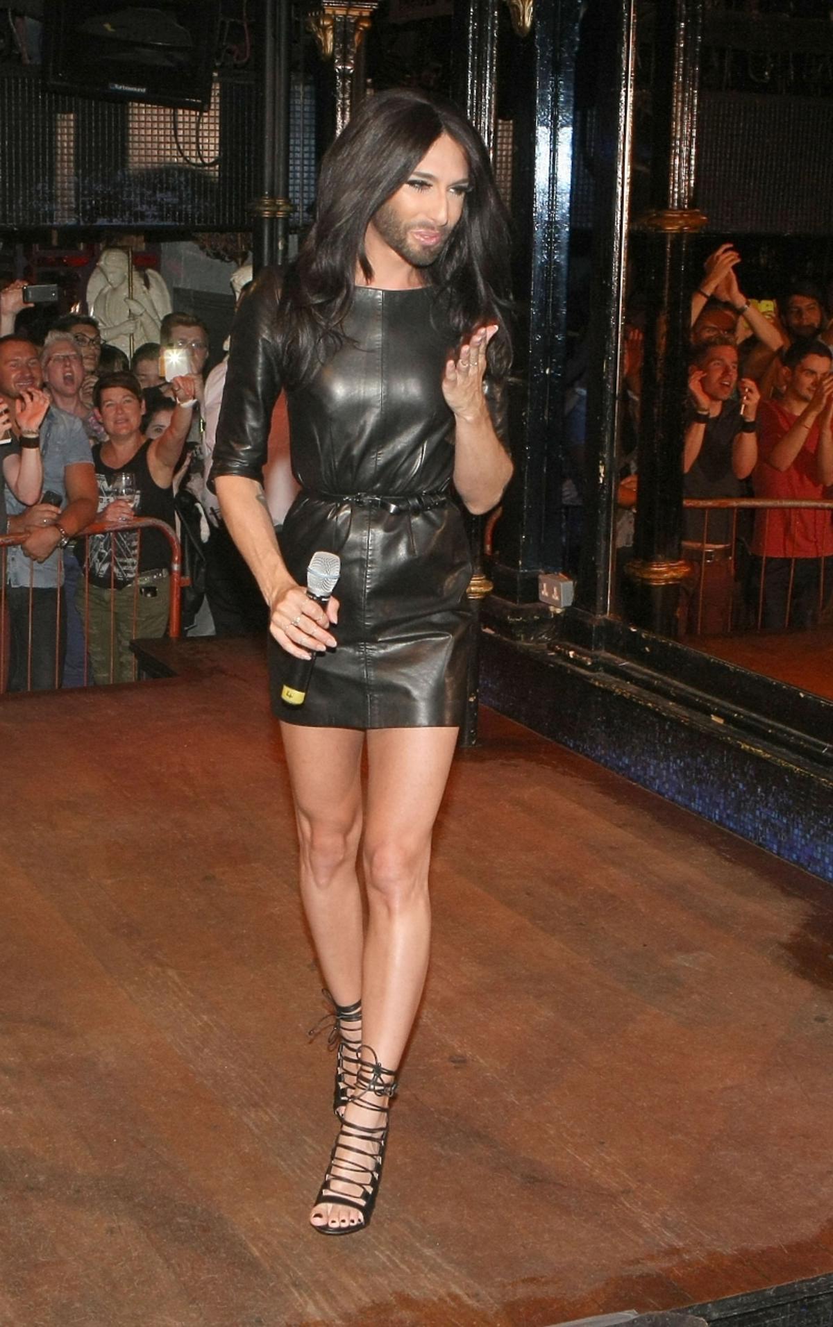 Conchita Wurst na Paradzie Równości w Dublinie