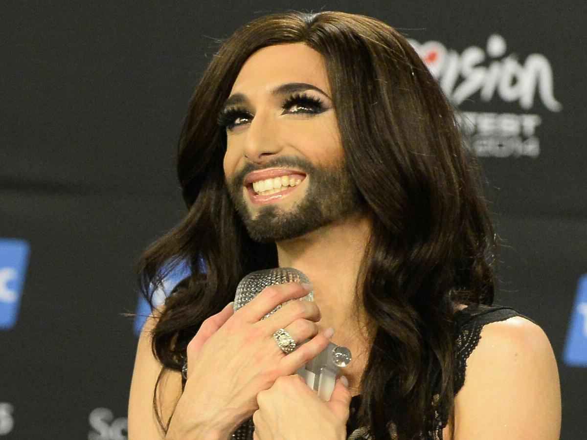 Conchita Wurst, zwyciężczyni Eurowizji 2014