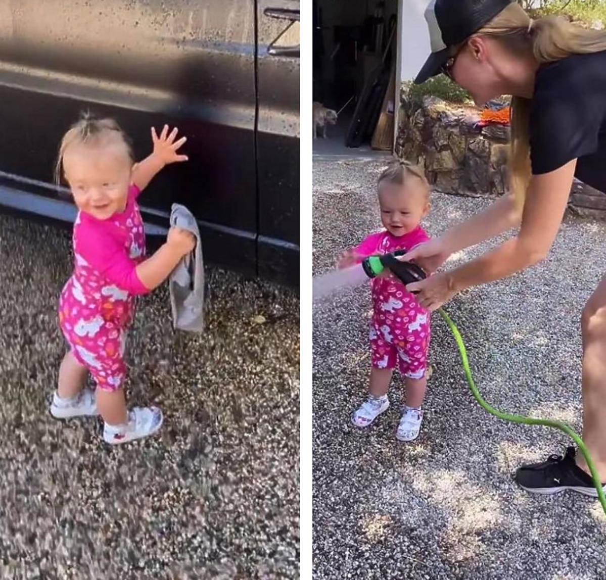Córeczka Joanny Krupy już pomaga w domowych obowiązkach. Ten widok was rozczuli
