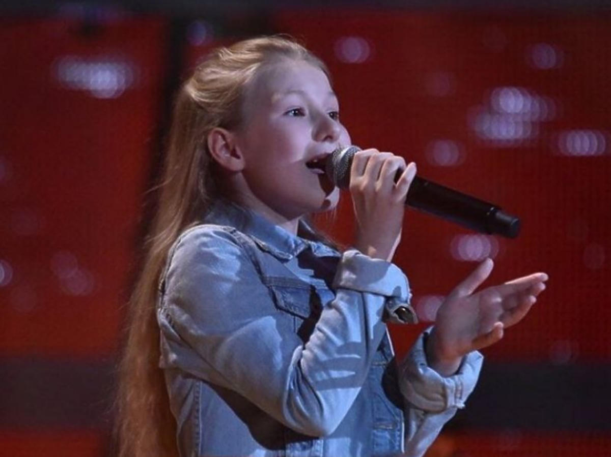 Córka Aldony Orman w niemieckiej edycji The Voice Kids