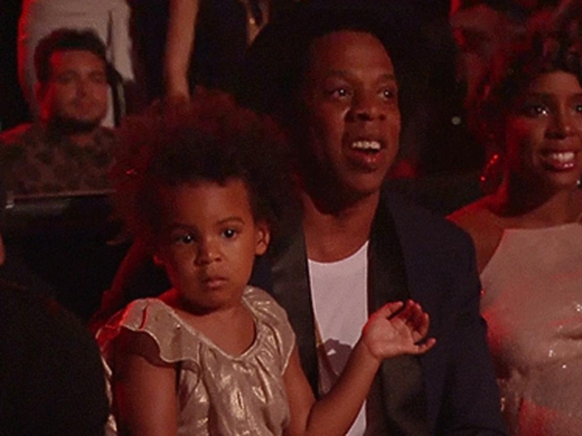 Córka Beyonce na MTV Video Music Awards 2014